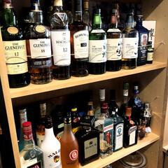 バー風/バー/インテリア/ウイスキー/お酒/フード/... お酒が大好き。最近はウイスキーがマイブー…