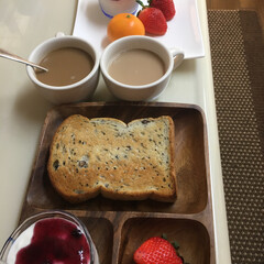フード 朝食です。