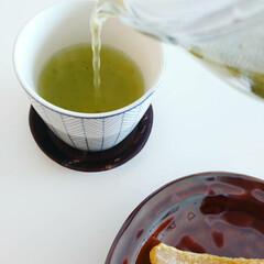 緑茶/干し芋/ティーポット/フォロー大歓迎/フード/スイーツ/... 緑茶大好きでよく飲みます。 おやつは干し…