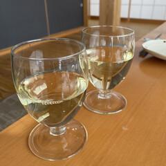 ワインで乾杯/今日はお昼から/結婚記念日 結婚記念日☆  今日はお昼からワインで乾…(5枚目)