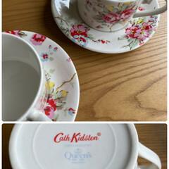 お客様用/思い出して手に入れる/実家/ペアカップ/キャスキッドソン/好きなブランドの1つ/... コーヒーカップ☆  好きなブランドの1つ…