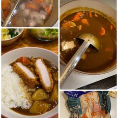 お夕飯/美味しくいただきました/遜色ない/市販の野菜を使用/超簡単カレー 超簡単カレー☆  市販の野菜を使用して♪…