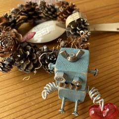ありがとう/感謝/スプーンは何と値段つき 笑/可愛い手作りロボたん/届いた/ステキなプレゼント/... 秋のプレゼント☆  インスタ友だちのノラ…(1枚目)