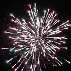 雪とのコラボ/空気が澄んでいるのでキレイ/冬の花火/7日間別の場所で/初めてのイベント/虹花火 虹花火☆  初めてのイベントで花火が上が…(4枚目)