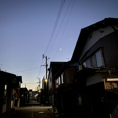 空/星/月/天気がいい/今朝/朝焼け 朝焼け☆  おはようございますヽ(´▽`…