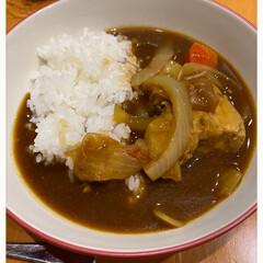 炊きたてご飯/うまうま(o´艸`)/美味しくいただきました/2日間煮込んだ豚の角煮入り/今夜はカレーライス/特別カレー/... 特別カレー☆  今夜はカレーライスでした…