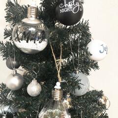 オーナメント/ツリー/3COINS/クリスマス2019/リミアの冬暮らし/セリア/... 【スリコとセリアのオーナメント】 シンプ…