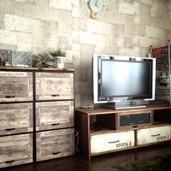 カラボリメイク/テレビボード