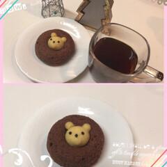 お茶/ティータイム/珈琲/コーヒー/ドーナツ/フォロー大歓迎/... 今日の3時のおやつ  アニマルドーナツ🍩…