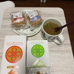 サンドイッチ/夕食/まい泉 昨晩の夕食です。 会社の人からお土産を、…