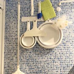 バスルーム用品/快適掃除/掃除 我が家のバスルームのお掃除グッズとバスグ…(1枚目)