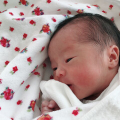 令和の一枚 令和元年7月31日に女の子産まれました。…