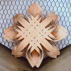 SeeMONO/フェリシモ/インテリア/手作り/サリュ/木のぬくもり/... 手作りって楽しいですね😊