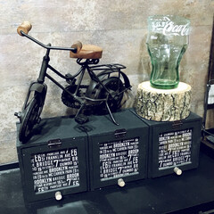 丸太/男前オブジェ/アイアン雑貨/アイアン/自転車/ロハスフェスタ万博/... ロハスフェスタ万博 2ndで 買ってきた…