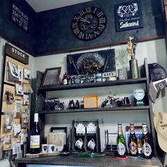 整理中/壁紙/男前雑貨/男前インテリア/オブジェ/アンティーク/... 歯車に惹かれて 掛け時計を購入しました。…
