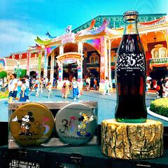 1泊旅行/35周年/ディズニー35周年/ディズニーデート/ディズニーランド/コカコーラの瓶/... 今月、ディズニーランドで買ってきた ディ…