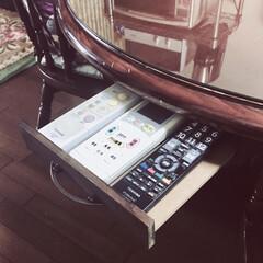 smilemind/spr20xx/SPR/収納便利/収納スペース/100均DIY/... 食卓のテーブルに引き出し付けました。  …