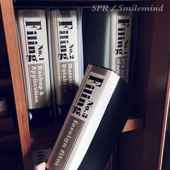 クラフト紙/smilemind/SPR/本棚整理整頓/整理整頓/DVD/... オリジナル背ラベルをクラフト紙に印刷! …
