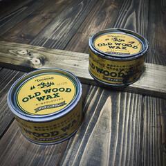 ターナー色彩 オールドウッドワックス アンティークグレー 350ml | ターナー(ワックス)を使ったクチコミ「引き戸の塗装。 オールドウッドワックスの…」