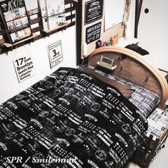 smilemind/SPR/ベッド/毛布/しまむら しまむらで買ったシーツと毛布。 さすがに…