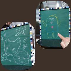 息抜き/黒板日記 つぶやく黒板。 黒板日記。 ❨犬わーい作…