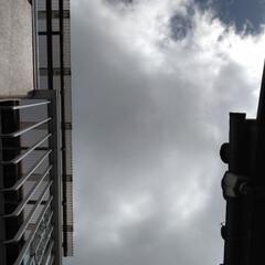 空/令和元年フォト投稿キャンペーン/風景 朝の空。 雲多め。 一日がんばる!^_^💧