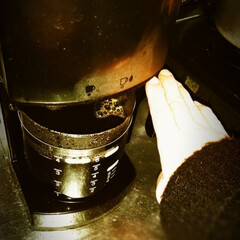 コーヒー党/冬 いつもインスタントだけど。 珈琲。