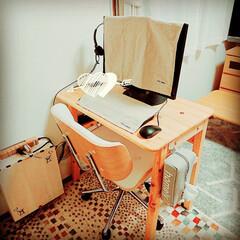 働き方改革/在宅勤務/workspace/Web会議用インカム/Webカメラ/生活と仕事は分けたい/... 在宅勤務はじめました💡   「生活」と「…