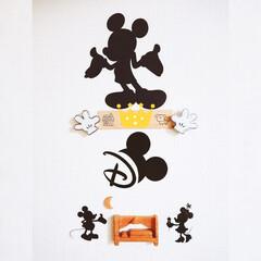 minneで買いました♡/寝室マーク/寝室の入口/ディズニー/ジブリ/ミッキー/... 寝室の入口です♪ 1枚目がディズニー好き…