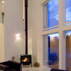 LIXIL/LIXILの窓/リクシル/明るい部屋/明るい家/明るいリビング/... ♪リビングの施工事例♪⠀ 断熱性の高いL…