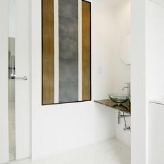 LIXIL/リクシル/玄関スペース/玄関ホール/玄関インテリア/白い玄関/... ♪玄関ホールの施工事例♪⠀ 玄関入ってす…