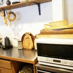 家電/片付け/南部鉄器/インテリア/炊飯器/DIY/... 2分24秒でもとの姿に(←測ってみた⌚)…