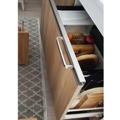 パール金属 ストックス 米びつ・ストッカー 15kg 用 H-5544 | パール金属(米びつ)を使ったクチコミ「我が家では、洗い物の負担を軽くするために…」
