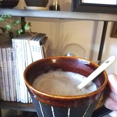 うつわ/春休み/コーヒー/キッチン雑貨/収納/雑貨/... 写真は朝のコーヒー。 最近暖かくて過ごし…