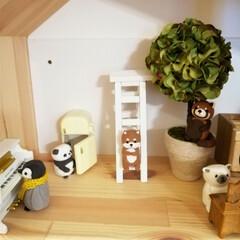 粘土/ハンドメイド/インテリア/ダイソー/セリア/100均/... お家遊び用に。 IKEAのドールハウスに…