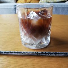 ZARAHOME/リビング/ソファ/アイスコーヒー/コーヒー/令和元年フォト投稿キャンペーン/... 今日も暑かったですねー! アイスコーヒー…