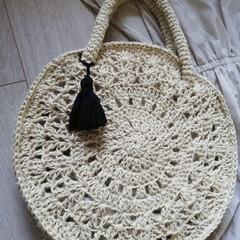 手編み/編み物/ハンドメイド/手作り/ハンドメイド雑貨/ハンドメイド作品/... 去年の夏に麻ひもで編んだバック達です。 …(7枚目)