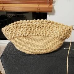 コクヨ 麻ひも チーズ巻き麻紐 480m   コクヨ(ひも、ロープ)を使ったクチコミ「まだまだ編み物ブームです🧶 最近では販売…」