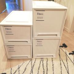 フィッツケース モノ ディープ | 天馬(チェスト、タンス)を使ったクチコミ「新たに子供部屋に購入した衣装ケース。 こ…」