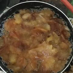 ジャム/フォロー大歓迎 リンゴのジャム(*´艸`) 上白糖とグラ…