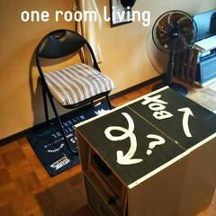 リメイク家具/インテリア/家具/収納 カラーボックスをくっ付けて、収納出来るテ…