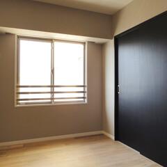 引き戸/クローゼット/洋室収納 引き戸に変更した洋室内のクローゼット。