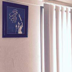 リビング/インダストリアル/バーチカルブラインド/ゼオライト/塗り壁/Art/... felakuti『Smoke King』