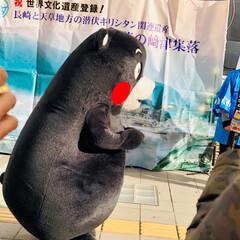 熊本/ご当地キャラクター/くまモン くまモンが熊本から遊びに来てくれていまし…(5枚目)