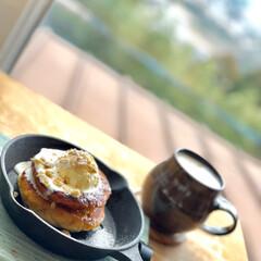 眺めの良いカフェ/グルメ/スイーツ lunchに引き続き、スイーツ🥞✨ 展望…