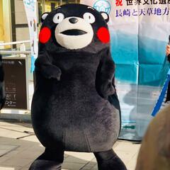 熊本/ご当地キャラクター/くまモン くまモンが熊本から遊びに来てくれていまし…