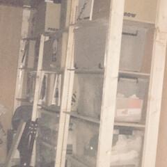 リフォーム/家具/住まい/収納/DIY/2x4/... 前回ラブリコを使用して作った収納棚に連結…