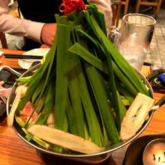 冬/春が待ち遠しい/春/アレルギー性鼻炎/花粉症/サリーちゃんは今日も飲む/... 盛り盛りもつ鍋〜🍲  もつ鍋を食べてきま…