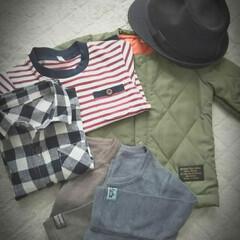 プチプラコーデ/キッズコーデ/西松屋 西松屋にて息子の服と帽子を購入。  全部…