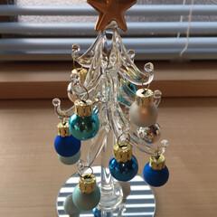 クリスマスツリー/イルカ/ダイソー/雑貨 1枚目 ダイソーで可愛いツリー🌲見つけま…
